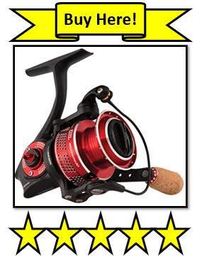 The Revo MGXtreme Spinning Reel from Abu Garcia