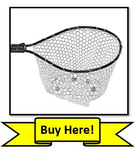 Clear Rubber Coated Frabill Fishing Net