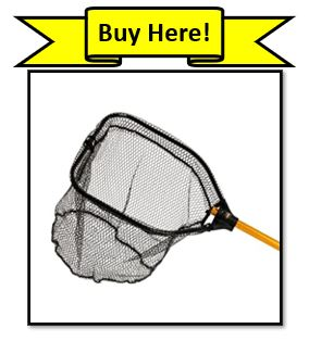 Frabill Power Stow micromesh fishing net