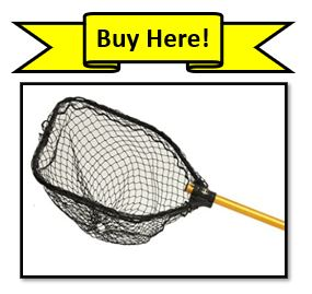 The Frabill Power Stow Poly Fishing Net