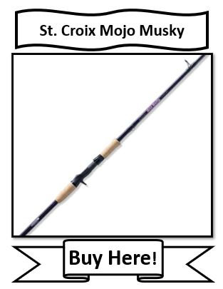St. Croix Mojo Musky Fishing Rods